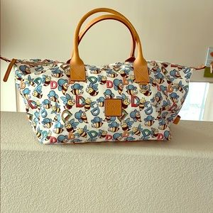 Vintage Dooney and Bourke Bees Duffel! So cute!